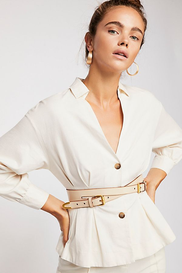 Free People Veronica Double Buckle Belt